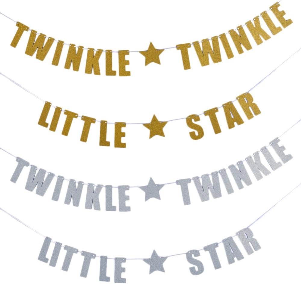 Twinkle little star garland polka dot affair